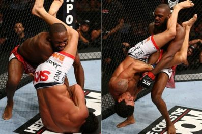 Superluta entre Belfort e Jon Jones